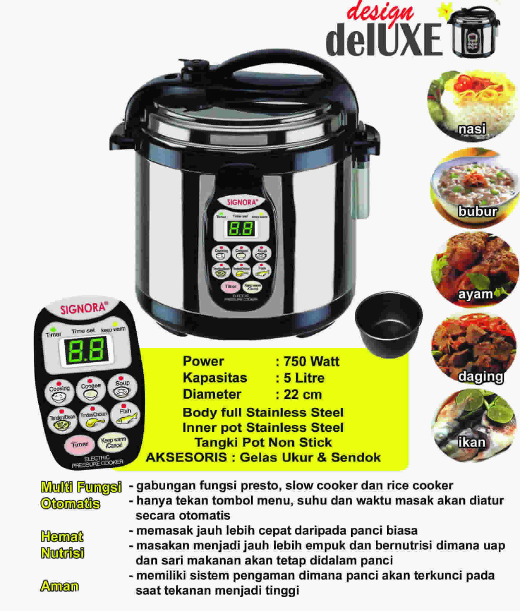 presto electric pressure cooker instructions