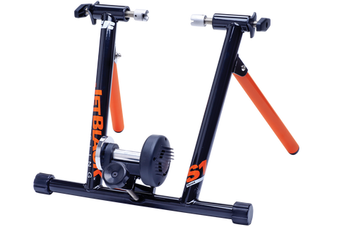 jet black cycling trainer instructions