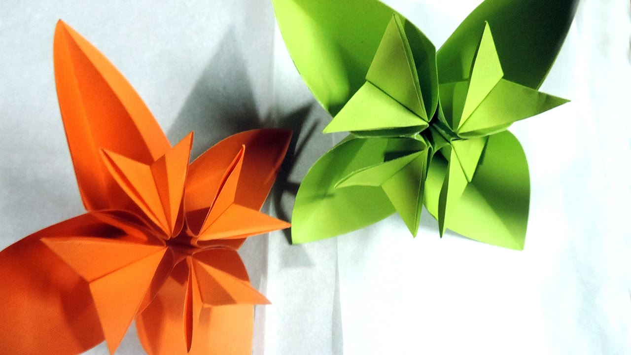 kusudama doll folding instructions