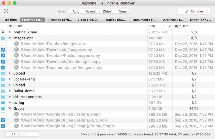 fast duplicate file finder instructions