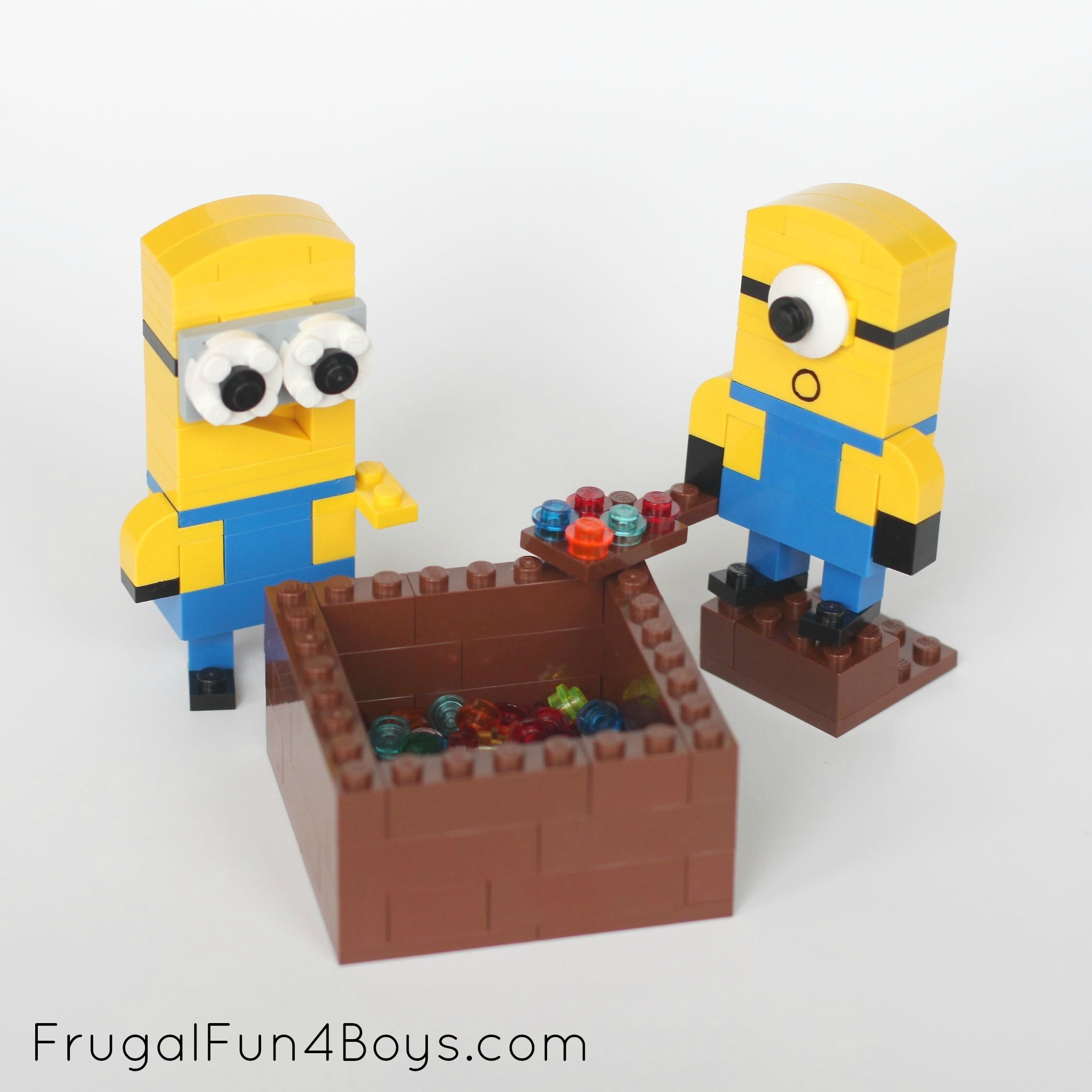 simple lego instructions for a house