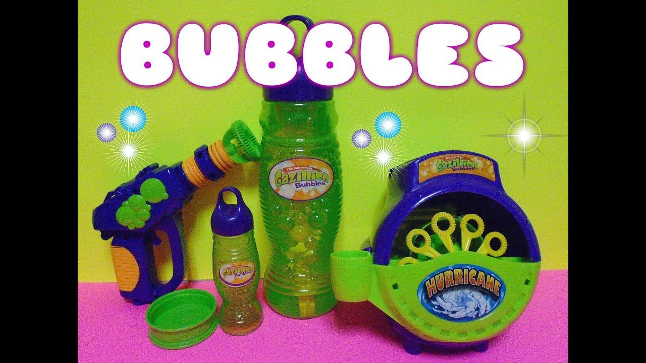 gazillion bubble hurricane instructions