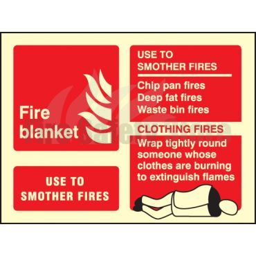 first aid blanket with instructions