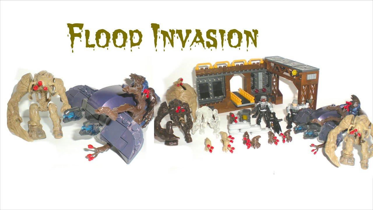 halo mega bloks flood invasion instructions