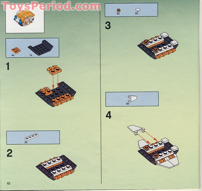 instructions for lego mars mission