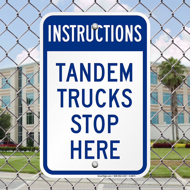 instructions for tandem stance