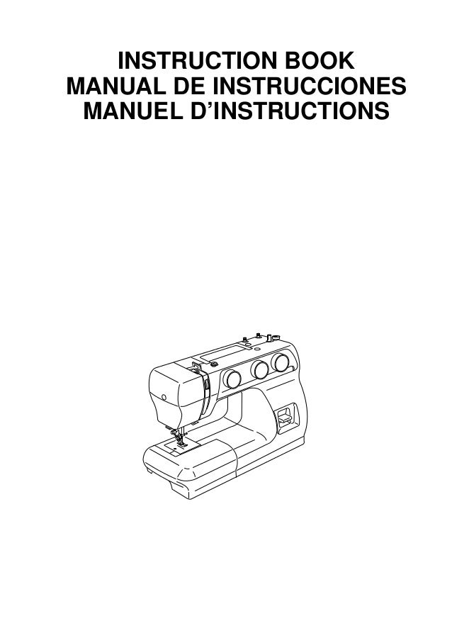 instructions on janome dc2101 user