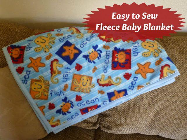 large fleece blanket instructions