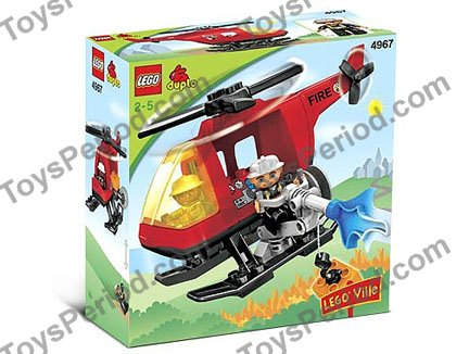 lego duplo fire helicopter instructions
