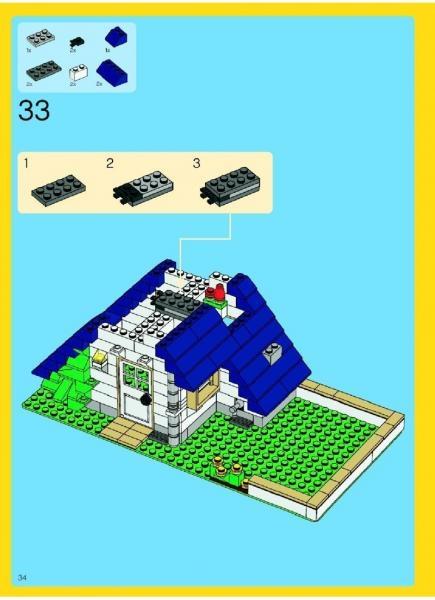 lego instructions apple tree house