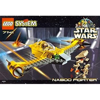 lego naboo starfighter vulture droid instructions