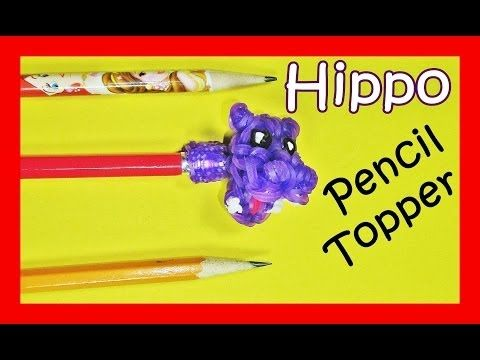 loom band pencil topper instructions