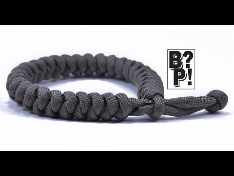 millipede paracord survival bracelet instructions