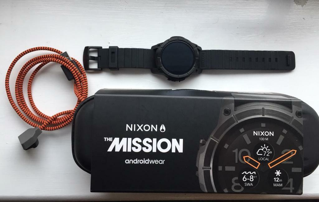 nixon mission watch instructions