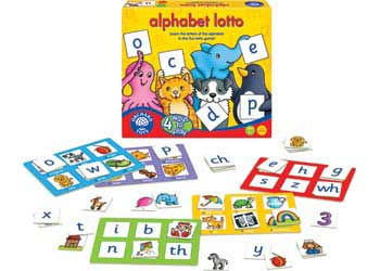 orchard toys alphabet lotto instructions