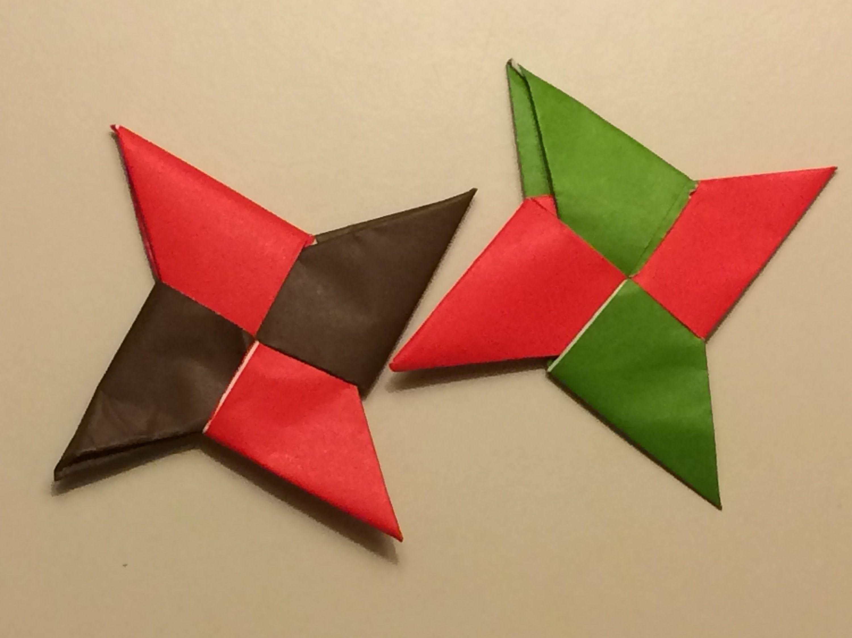 origami nija star instructions for kids