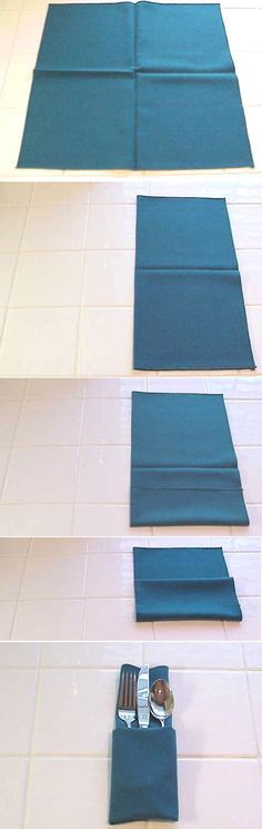 paper napkin folding instructions rose