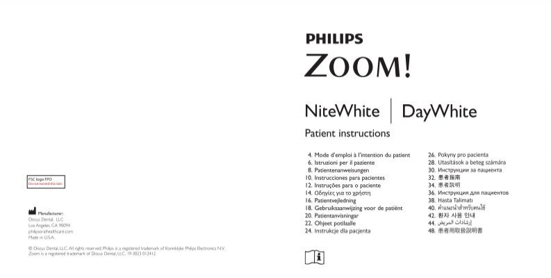 philips daywhite 14 instructions