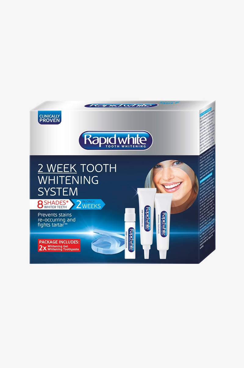 rapid white bleaching system instructions