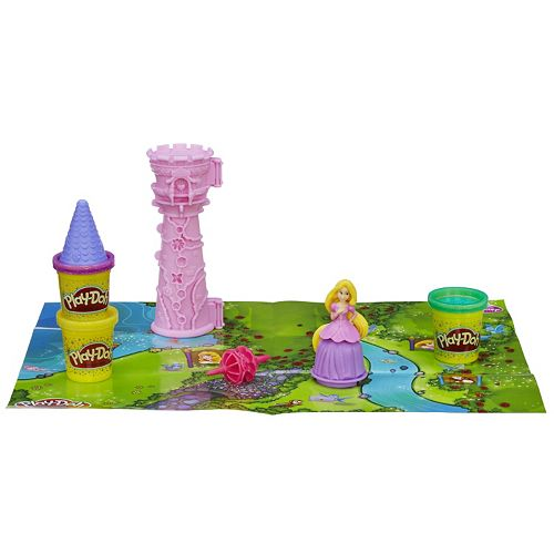 rapunzel play doh instructions