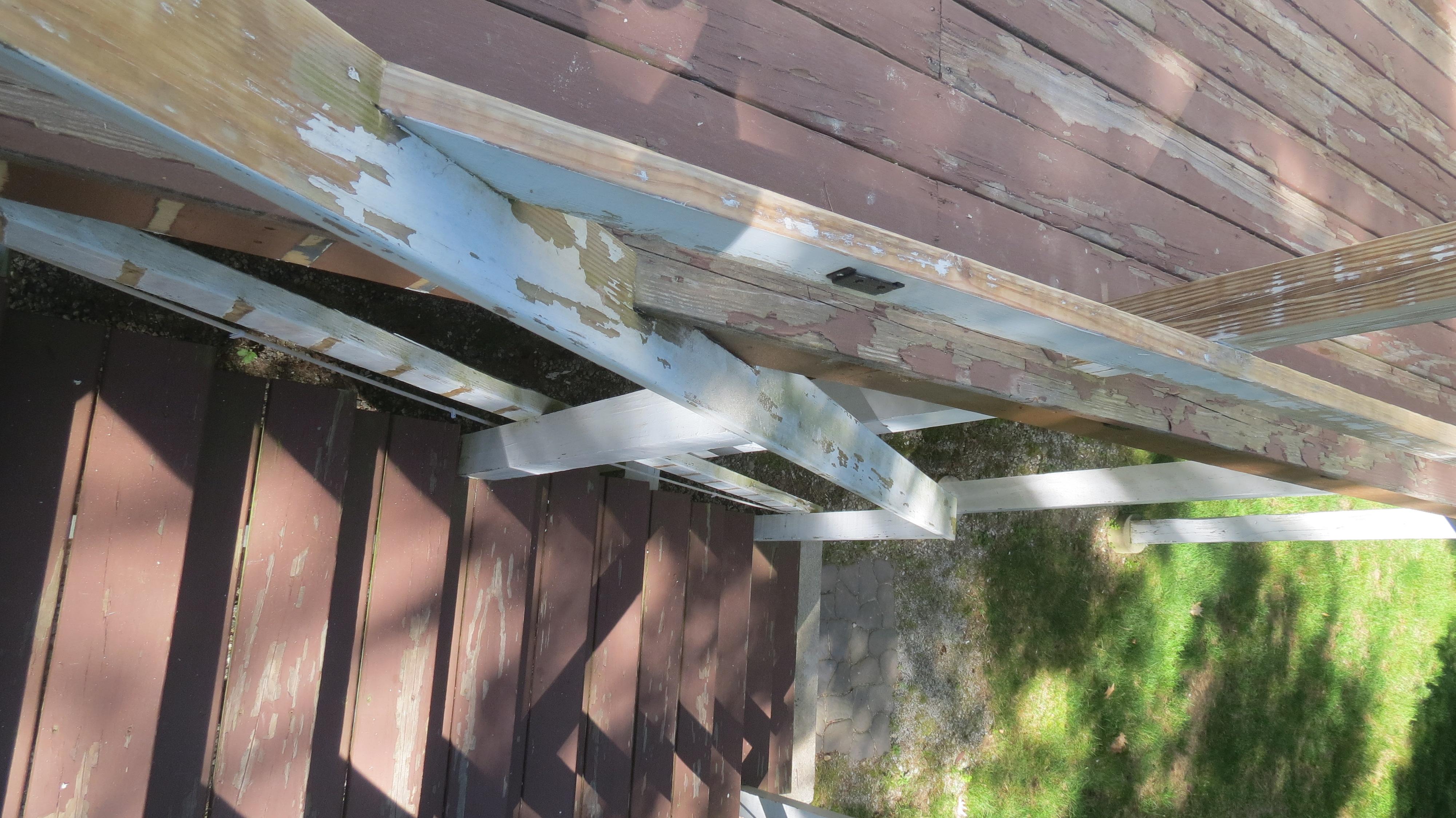 restore deck paint instructions