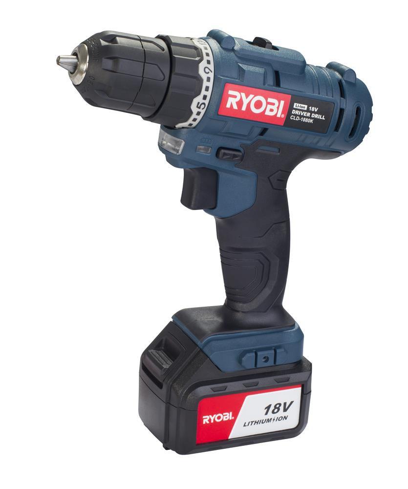 ryobi 18v cordless drill instructions