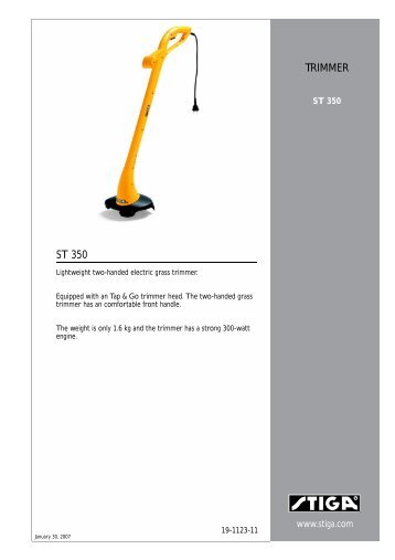 talon electric line trimmer instructions