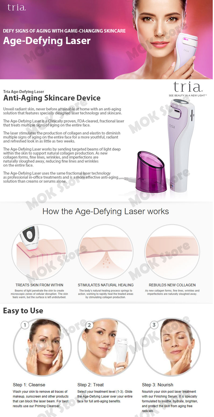 tria rejuvenating laser instructions