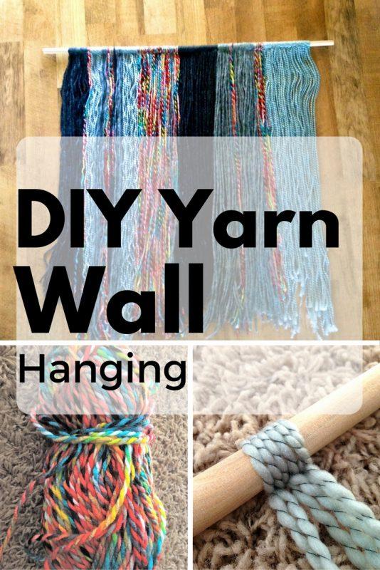 yarn wall hanging instructions